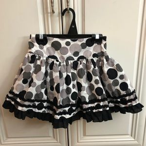 🌟2/$20 Polka Dot lined skirt